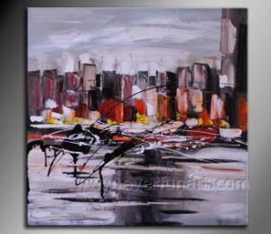 La decoración del hogar Abstract Oil Painting (XD1-270)