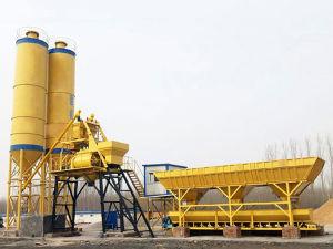 Planta de lote de concreto (25m3/h) para venda no exterior