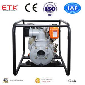4incheasy funcionamiento la bomba de agua con motor Diesel