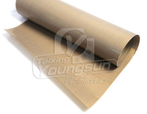 Из тефлона (TEFLON), предварительно нагрейте ткань