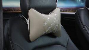 Coche de la memoria en el cuello de la cintura de Enfermería de algodón almohada de cuello de reposacabezas del coche