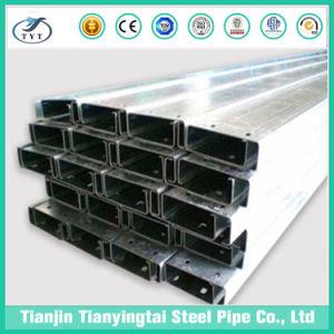 Alta calidad de los rieles de acero tipo C