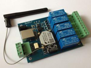 Controlador Remoto WiFi (placa de controle remoto 5 canais)