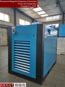 VFD zweistufige Drehschrauben-Hochdruckluft Compressor