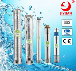 Pompe ad acqua portatili sommergibili del pozzo profondo di J800 15HP 11kw