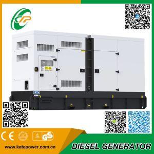 250 ква Cummins генераторная установка звуконепроницаемых тип генератора дизельного двигателя (KT-C250S)