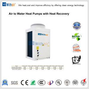 Casa de bombas de calor do aquecedor de água