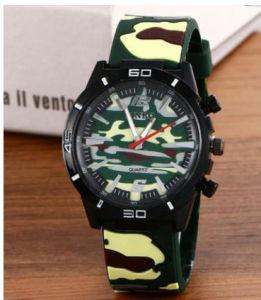 Correa de reloj de plástico de Material de silicio caso Sport reloj de regalo para la Promoción Ver (DC-009)