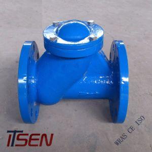 Fundición de hierro dúctil DIN / extremo de la brida Válvula de retención de bola flotante