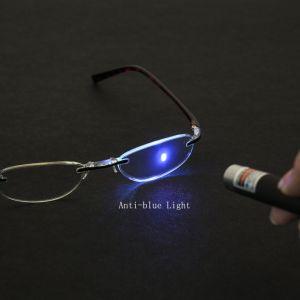 Lupas Anti-Blue Ray Rimless mujer gafas de lectura