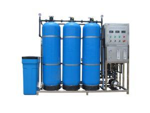 Funcionamiento manual purificadora de agua de la máquina con sistema OI