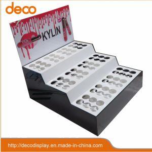 Visor de acrílico plástico cosméticos caso Caixa de exibição para o varejo