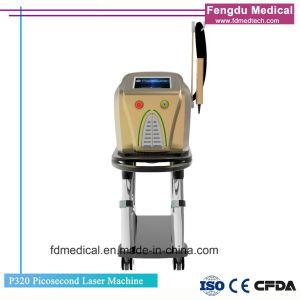 휴대용 ND YAG Laser 귀영나팔 제거 기계 1064nm, 532nm 755nm