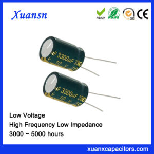 A grande capacidade 3300UF 10V electrolíticos Capacitor