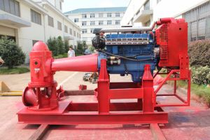 La bomba de turbina vertical (para la lucha contra incendios) , 750 gpm 1000 gpm 1500 gpm Turbing Vertical fuego Bomba, Bomba, Bomba Vertical de eje largo