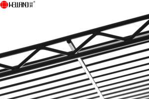 Cremalheira preta revestida moderna do gancho de pano do vestuário do fio de aço de Epoy