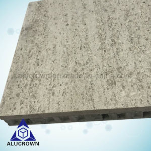 30mmの厚さの床の装飾のための自然な石造りの蜜蜂の巣のパネル