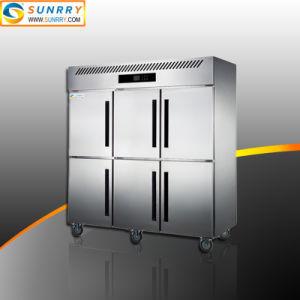 상업용 수직 스테인리스 스틸 심각 캐비닛 냉각기 냉장고 및 냉동고