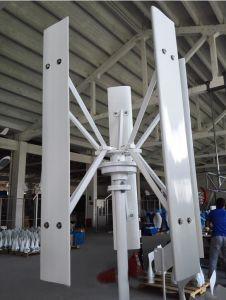Generador de turbina vertical marina libre de viento de la energía 200W 12V/24V Vawt del Portable