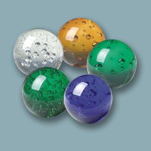 K9 de alta calidad bolas de cristal con burbujas de aire para regalo de Navidad
