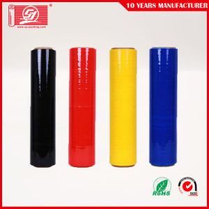 多彩な鋳造LLDPEの伸張のパッキングフィルムの収縮の覆い