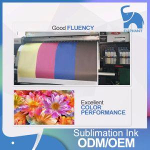Excelente Cor Kiian HI-PRO Têxteis de sublimação de tinta para DX5