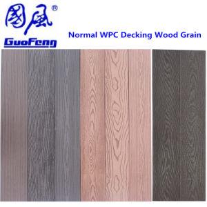 環境に優しい木製のプラスチック合成物WPCの庭のDeckingのフロアーリング