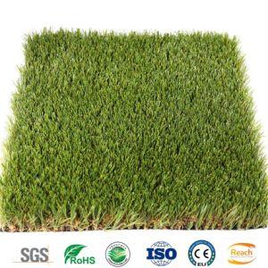 Folgendes Erzeugungs-künstliches Gras für Wohngebiet-Chemiefasergewebe-Rasen