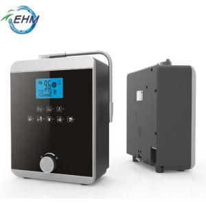 Visor LCD Touch água alcalina Ionizers 11 Placas em titânio sinterizado Orp Placa Platinum