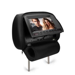 Poggiacapo della sede di automobile di GPS dell'automobile del giocatore del video DVD/MP5/IR/FM dell'affissione a cristalli liquidi da 7/9 di pollice audio video