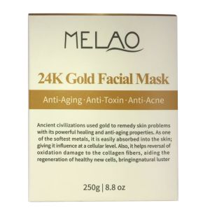 24 het Verouderen van het Masker van K het Gouden Gezichts AntiVlekkenmiddel van de Meeëter van de Behandeling van de Acne van de Porie