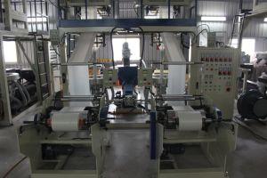 Goede LDPE van Prestaties HDPE Twee de Hoofd Blazende Machine van de Film voor de Zakken van de T-shirt
