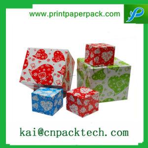 La Chine cadeau papier Boîte de couleur pour le thé beauté Emballage Cholocate Box