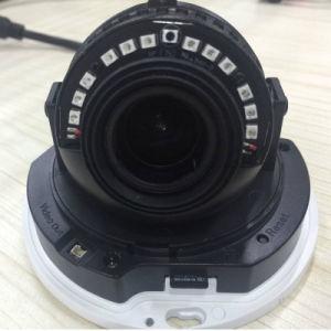 4MP H. 265 방수 3axis 30m IR Ik10 Vandalproof 돔 통신망 IP 사진기