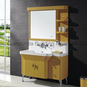 浴室用キャビネットの洗面器の固体表面の洗浄手洗面器