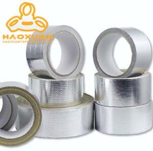 Alcalino de aluminio resistente al calor de la malla de fibra de vidrio resistente a la cinta de techos ignífugos