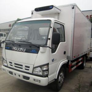3トンIsuzuはキャリアによって冷やされている単位が付いているトラックを冷やした