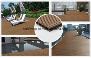 Композитный пластик из дерева для деки открытый балкон терраса WPC декорированных