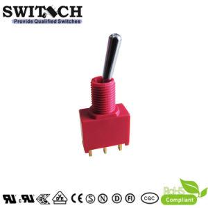 Interruttore di attuatore terminale Gold-Plated impermeabile dell'interruttore chiaro dell'interruttore di pulsante dell'interruttore basculante del metallo