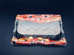 Les emballages en plastique à usages multiples boîtes, les boîtes de Sushi et boîtes de fruits