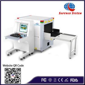 X scanner del raggio che seleziona 6040 con l'immagine di HD per il sistema di ispezione della macchina del rivelatore del bagaglio dell'ufficio postale dell'aeroporto dell'hotel