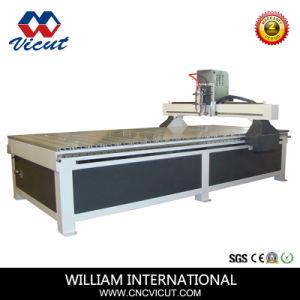 Reklameanzeige-Zeichen, das CNC-Stich-Ausschnitt-Fräser herstellt