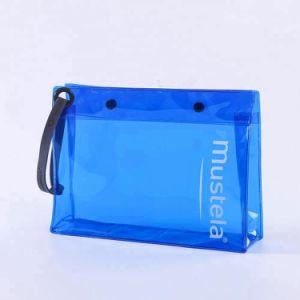 ボタンが付いている個人化されたSemi-TransparentカラーPVC/EVA物質的で装飾的な袋袋