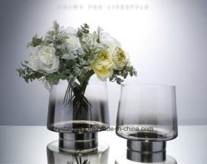 Дымный серый градиент ваза с плавным регулированием скорости домашних аксессуаров