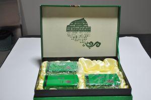 호화스러운 녹차 서류상 포장 선물 상자