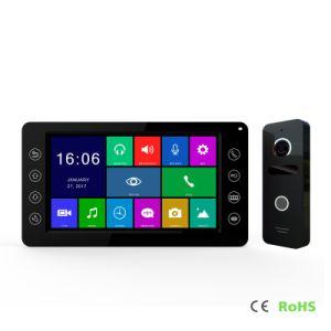 Intercomunicación Home Securiey Momery HD de 7 pulgadas de Video Portero portero automático