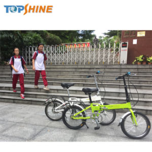 Batteria di litio personale del trasportatore che piega una bicicletta elettrica da 18 pollici