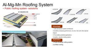 Décoration panneau sandwich de toit en polyuréthane pour l'enveloppe de toit
