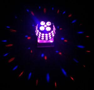 La magia de gobos de rotación de la luz de efecto Starball LED