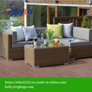 Tissu extérieur salon un canapé-Set de meubles de jardin –Tissu ...